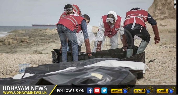Bodies of 74 Migrants Wash Up on Libyan Coast – [IMAGES]