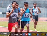 Four Army athletes selected to represent Asian Athletic Championship 2017