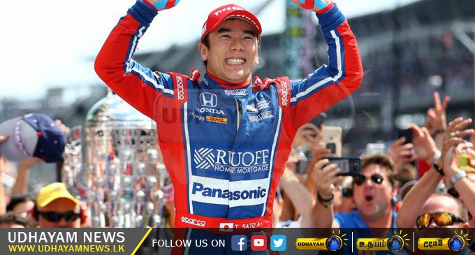Sato becomes first Japanese to win Indy 500