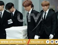 Funeral held for K-pop star Jonghyun