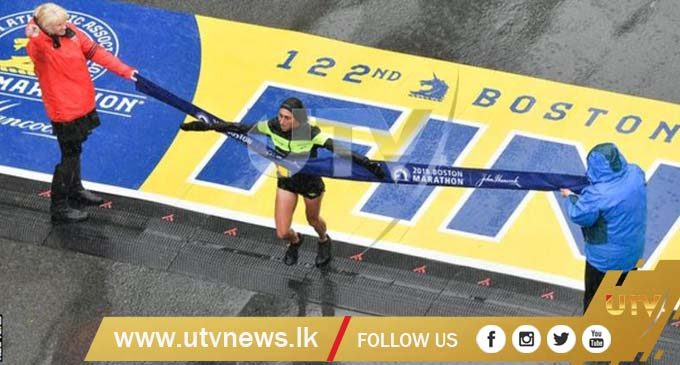 Desiree Linden becomes first American woman to win Boston Marathon since 1985