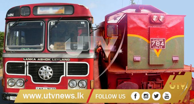 Special train and bus services are in operation during the festive season