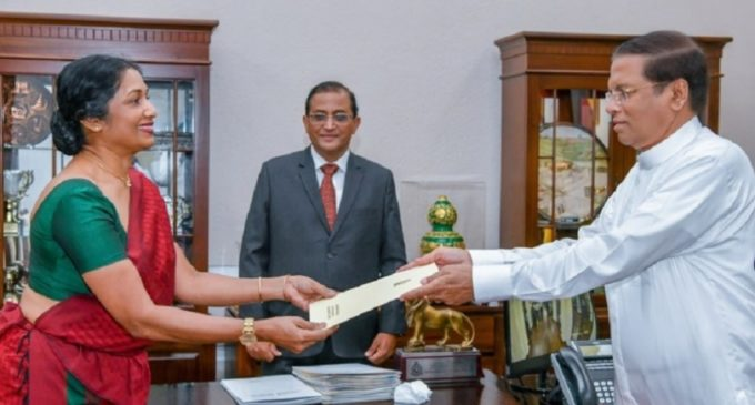 New secretary to the Ministry of Health, Nutrition and Indigenous Medicine