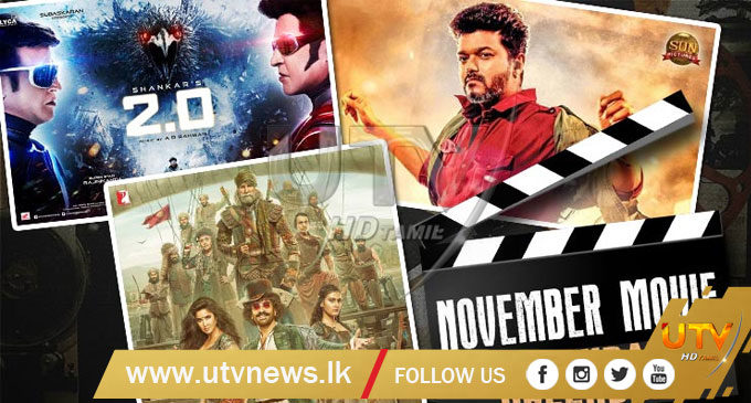Movies in November: Thugs of Hindostan and 2.0 to dominate the festive month
