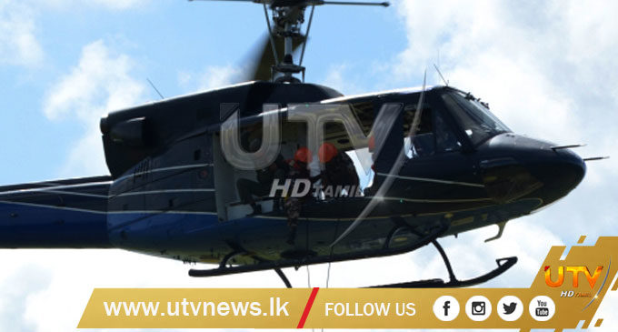 Air Force rescues 6 people trapped in Mullaitivu