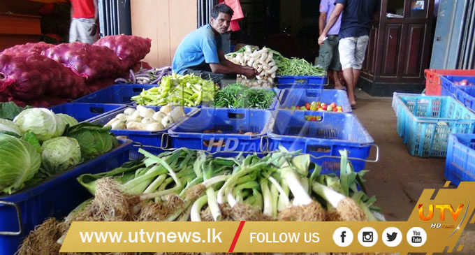 Vegetable prices up