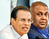 President instructs Mangala to submit Budget Appropriation Bill on Monday