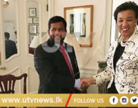 Minister Bathiudeen sends greetings to Commonwealth Secretary-General