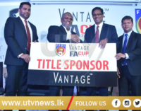 """Vantage"" continues to tie up with FFSL for FA Cup 2019 – [IMAGES]"