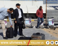 Libya crisis: Air strike at Tripoli airport as thousands flee clashes