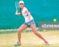 Anika retains singles crown and performs a 'double'