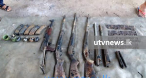 Navy discovers arms cache 1