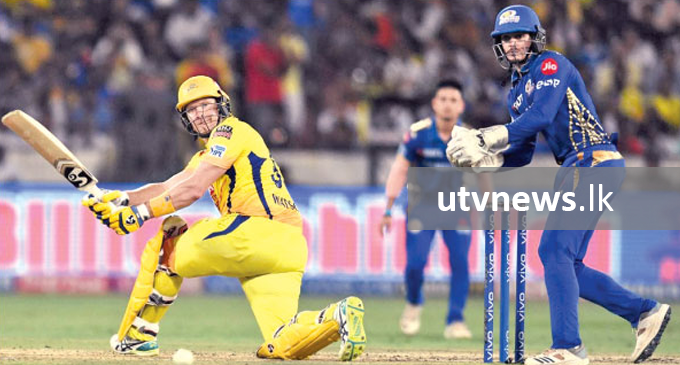 Watson 'gave blood' for Chennai during IPL final