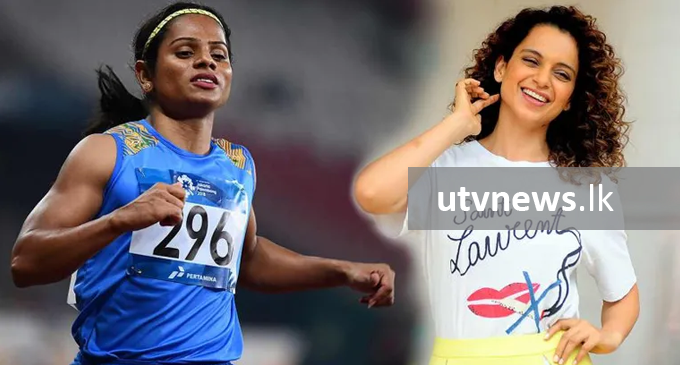 Kangana as sprinter Dutee Chand