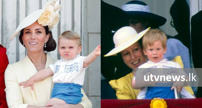 Prince Louis wears Prince Harry's childhood outfit