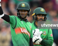 Bangladesh chase 322 to beat West Indies