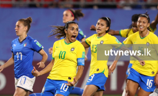 Marta becomes World Cup Finals leading scorer as Brazil join Italy in last 16