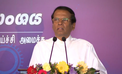 President explains how Sri Lanka's attempt to develop nursing service failed