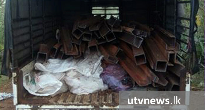 Three suspects arrested for stealing iron from Hambantota Harbour