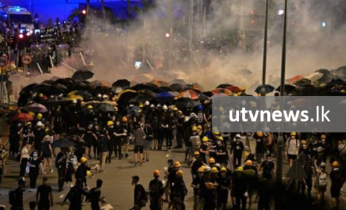 Hong Kong police evict protesters who stormed parliament
