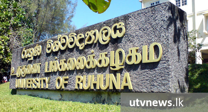 Three faculties at Ruhuna Uni. to be reopened tomorrow