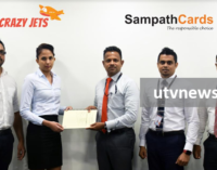 Crazy Jets brings in Miles on the Fly™ for Sampath Credit Cardholders