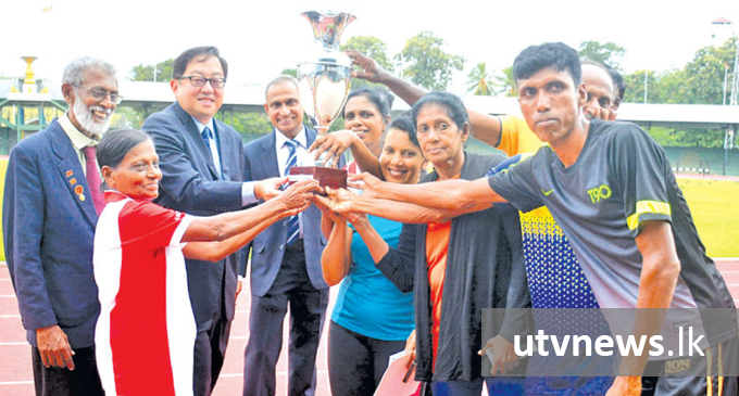 Colombo, Gampaha dominate Masters Athletics