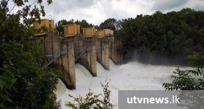 Two spill gates opened in Laxapana Reservoir