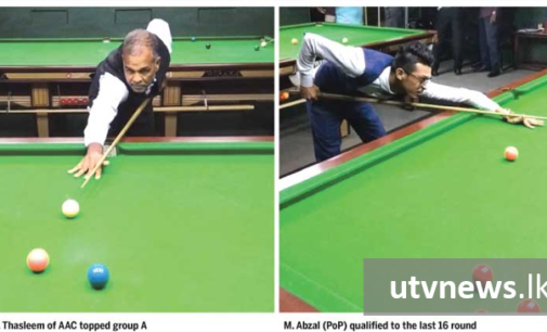 Defending champ Fahim strikes form ahead of knock out round
