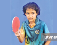 Pabara Maneesha table-tennis star in the making