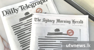Australian-Papers-Black-Out-UTV-News
