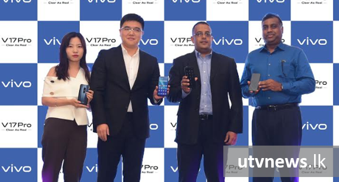 vivo launches V17 Pro in Sri Lanka with a trailblazing iconic camera design; The World's First 32MP Dual Elevating Selfie Camera