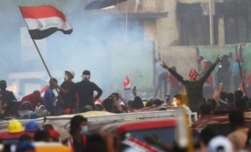 Iraq protests: Top Shia cleric gives support to protests