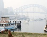 Sydney smoke: Australia fires send haze over Sydney and Adelaide