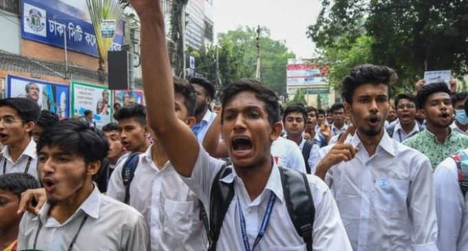 Three jailed in Bangladesh over crash that sparked mass protests