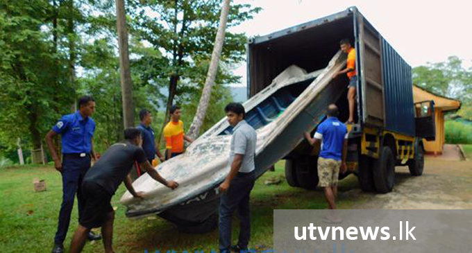 Navy relief teams stand at ready to respond to eventualities of inclement weather
