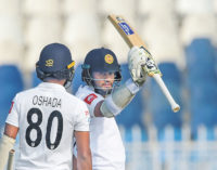 Pakistan dominate Sri Lanka in first home Test for ten years