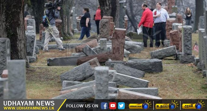 First Hundred Days Of Donald Trump: The Vandalism Of About 170 Headstones In A Jewish Cemetery – [IMAGES]