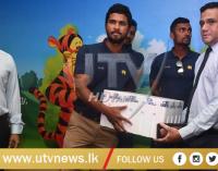 Sri Lanka Cricket donated medicines worth Rs. 1 million to the Apeksha (Cancer) Hospital in Maharagama