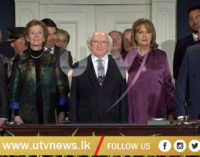 Michael D Higgins inaugurated as President of Ireland