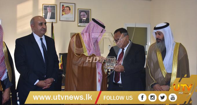 Kuwait Ambassador to Sri Lanka calls on Minister Haleem