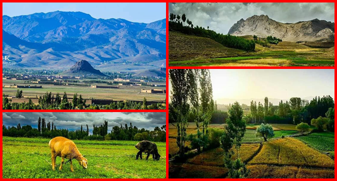 Breathtaking View of Paktia – Afghanistan