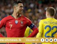 Ronaldo's Portugal return ends in draw