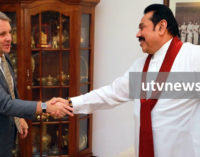 """""""Opposition will support moves to maintain peace"""" – Mahinda assures Germany"""