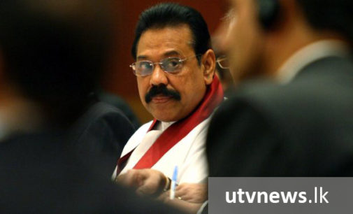 """Death penalty should not be implemented, only exist as punishment"" – Mahinda"