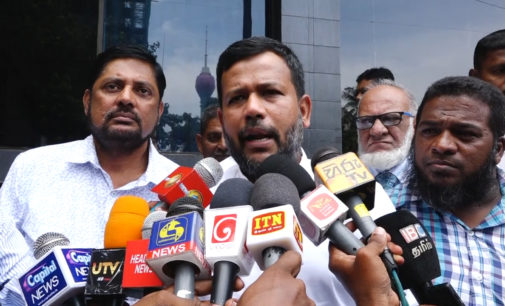 """Rishad says """"Muslim Ministers in no hurry to return"""""""