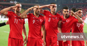 Turkey-Footballer-Military-Salute-UTV-News